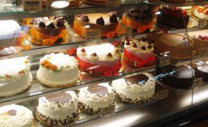 מקרר תצוגה לעוגות